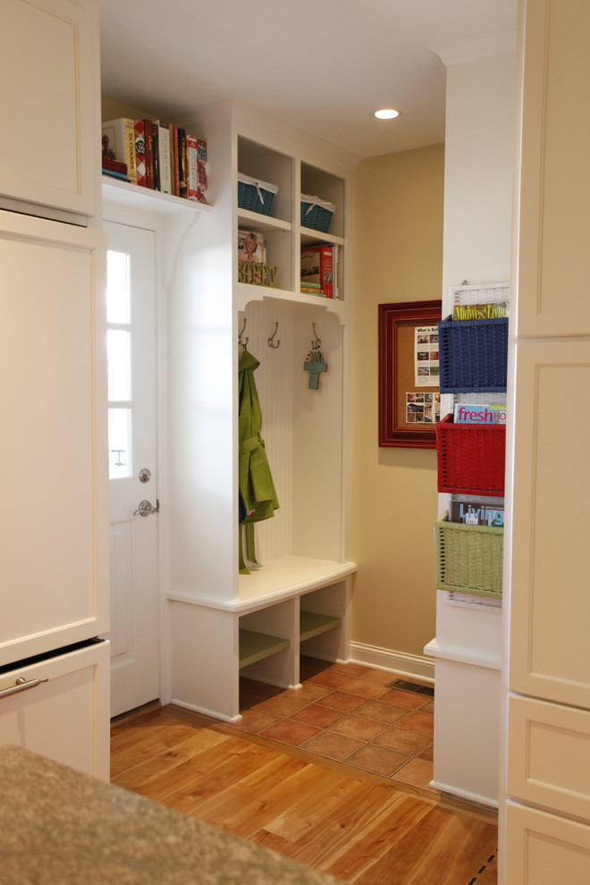 Open Laundry Room Shelves