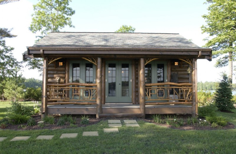 Small rustic cabins and rooms to get rustic cabin design for Cabin exterior design ideas