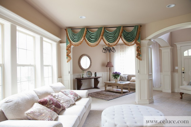 Get The Ideas Of Great Valances For Your Nifty Living Room Decohoms