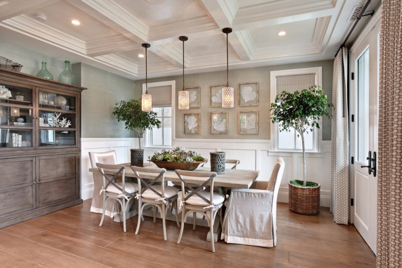 Farmhouse Dining Room Dining Chairs With Slipcover Pale Toned Dining Table  Old U0026 Antique Corner Cabinets