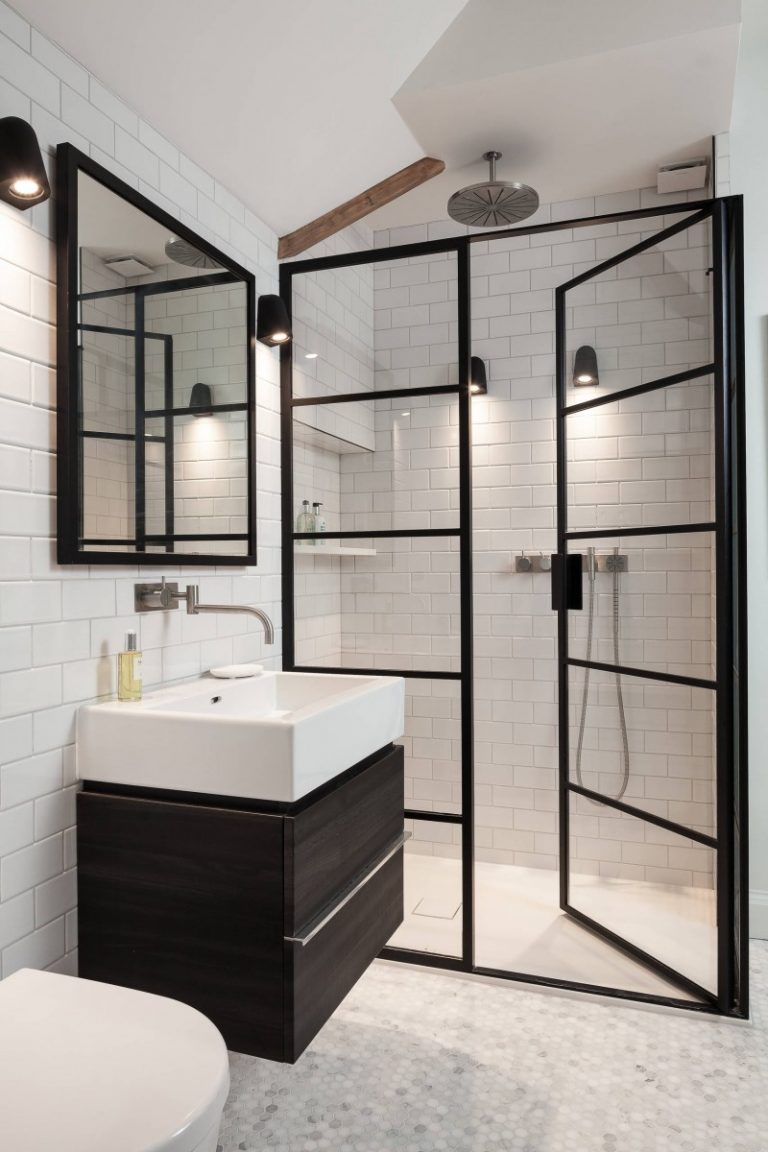 Frameless Bathroom Mirror Ideas Master Bath