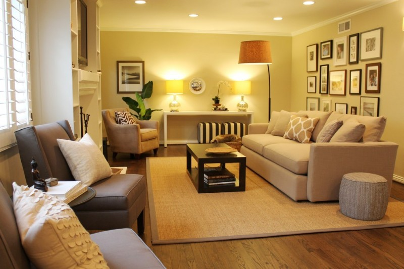Wonderful living room color schemes to beautify your home for Colour scheme ideas for living room
