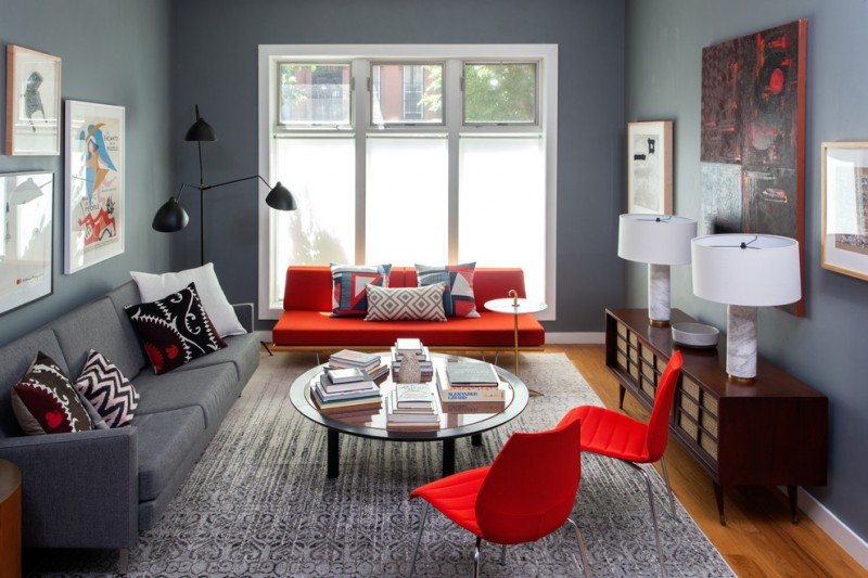http://www.decohoms.com/wp-content/uploads/2017/08/living-room-color-schemes-red-and-gray-color-scheme-serge-mouille-three-arm-rotating-floor-lamp-privacy-windows-minimalist-furniture-glass-circle-table-rug.jpg