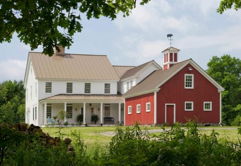 Pole Barn House Plans Red And White Windows With Frame Gable French Doors Metal