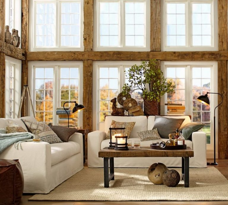 Pottery Barn Living Room Wayland Task Floor Lamp Griffen Coffee Table Solano Sofa Leather Cube Pillow
