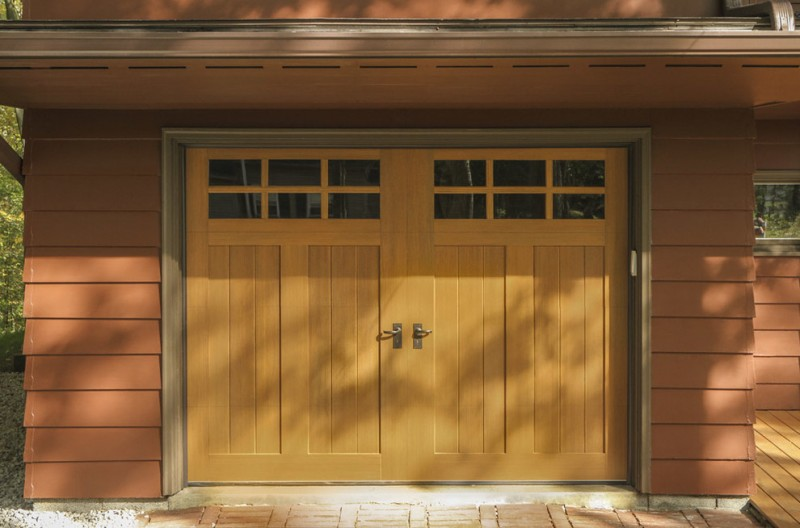 wooden garage door door holder glass garage window trellis wooden siding wooden ceiling