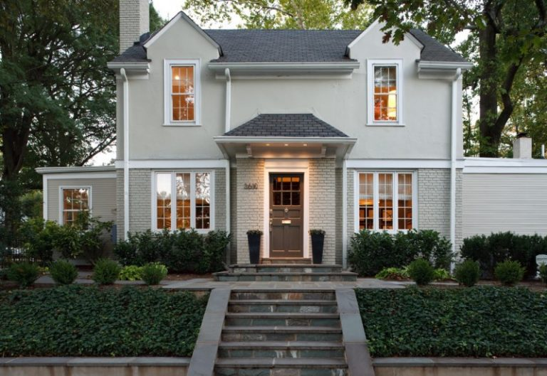 Maximizing the Aesthetic Look in Your Brick House Using the Right ...