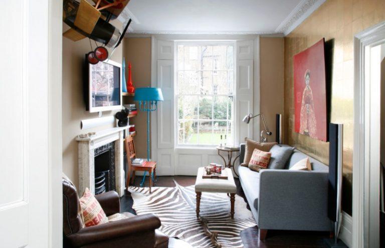 ideas on comfortable compact living room decohoms. Black Bedroom Furniture Sets. Home Design Ideas