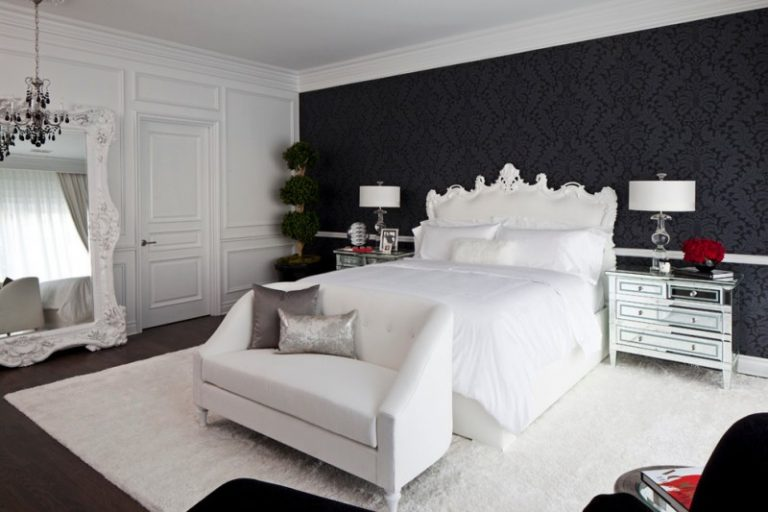 Ten Magnificent Black And White Ideas For Your Bedroom