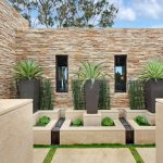 Planters Bamboo Plant Pot Stone Bed Stacked Stone Stone Wall Stone Paving Windows