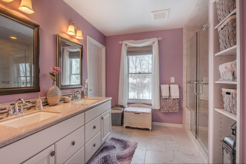 Ten Chic Lavender Bathroom Ideas You Can Apply Decohoms
