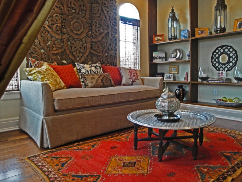 moroccan coffee table authentic moroccan rug carved moroccan screen moroccan accents moroccan lanterns reading nook
