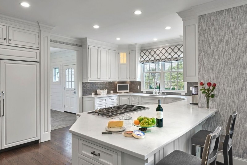 Ten Wondrous Peninsular Kitchen Ideas You Will Love Decohoms