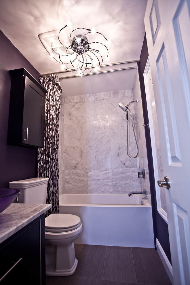 Affordable Purple Bathroom Accessories You Can Get Decohoms
