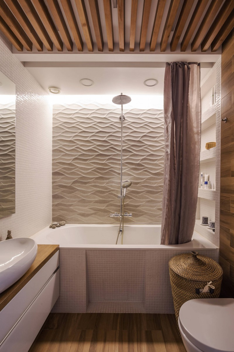 Modern Shower Tile