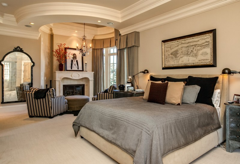 Breathtaking Collection Of Dazzling Mansion Master Bedroom