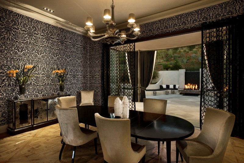 Classic Black Dining Table Ideas for Your Dining Room | Decohoms