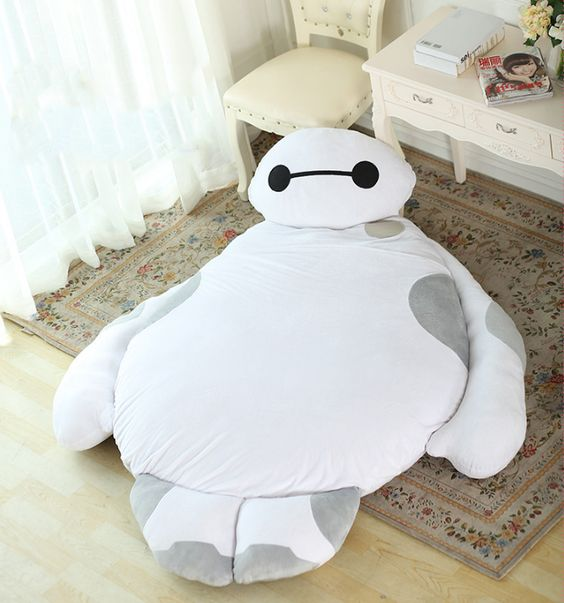 big baymax bean bag