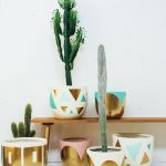 Colorful Painted Pots For Plants