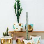 Colorful Painted Pots For Plants