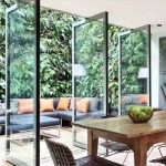 Sliding Glass Door On The Kitchen To The Patio