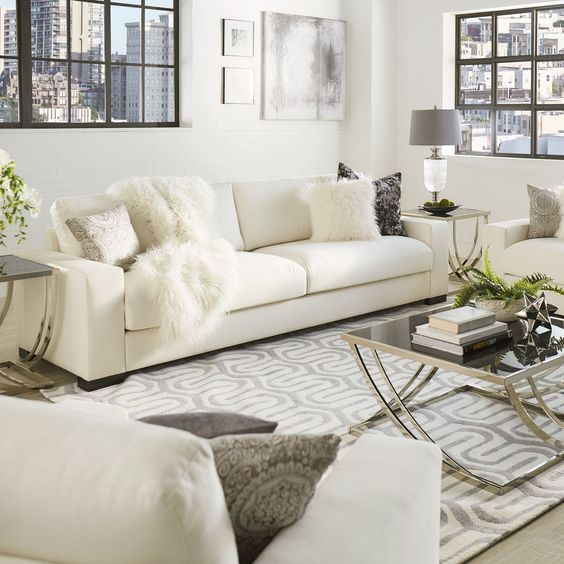Relaxing White Living Room To Get Some Inspirations Decohoms