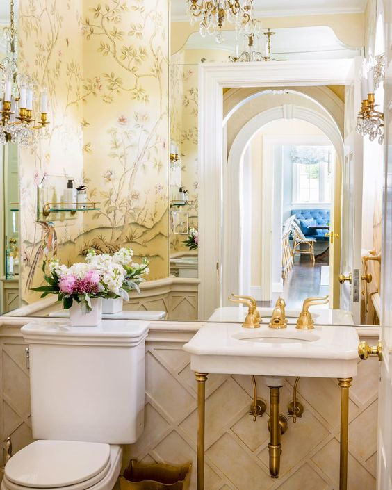 Stunning Powder Rooms Inspirations That You Will Love