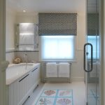 Towel Rack Height Roman Shade Built In Tub Coastal Decoration Glass Shower Doors Window Tub Fiiller Window Blindrecessed Lighting