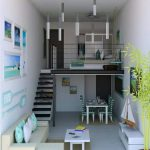 Apartmen, Living Room, Kitchen, Dining Room On The Ground, Bedroom On The Upper Level