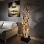 5 Unique Driftwood Floor Lamps To Look Natural
