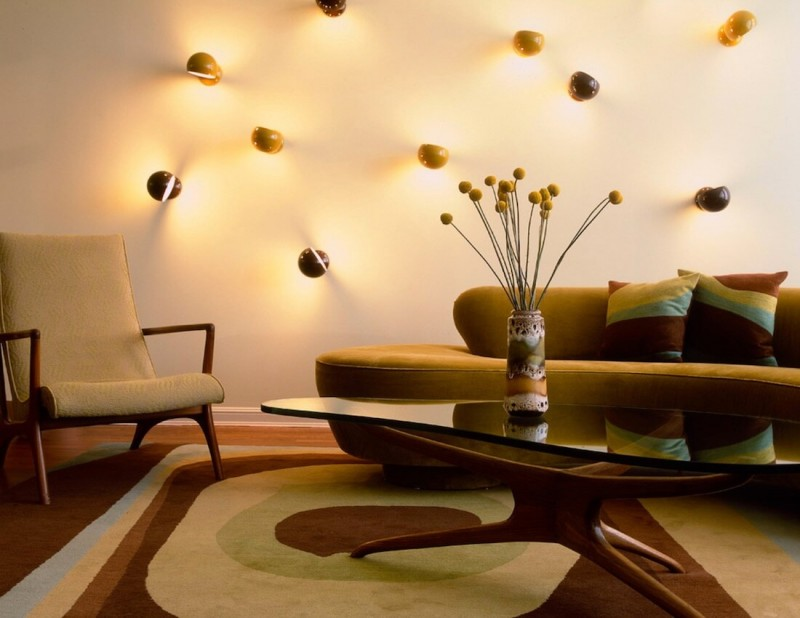 8 funky warm lighting wall lamps