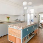 8 Modern Chic Kitchen With Terazzo Worktop
