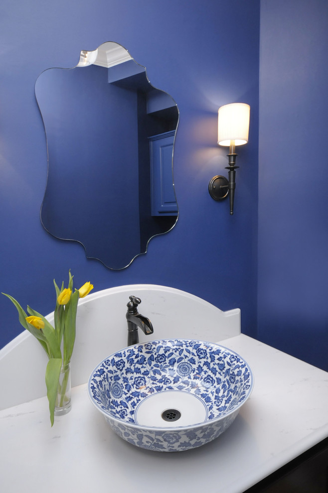 sink bowl blue walls unique wall mirror white top black vanity mediterranean blue and white sink bowl mounted faucet wall sconce