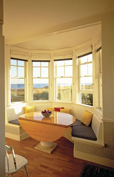 Creating Pretty Banquette Looks Around The Window Bay