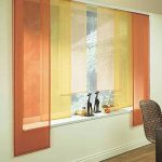 Orange, Yellow, Shade, White Wall, Wooden Floor