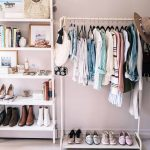 White Metal Rack, White Wall, White Wall Mounted Shelves