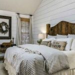 Farmhouse, White Wall Plank, Rug, Wooden Bed Platform, Window, Table And Chair