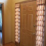 Awesome Cool Adorable Great Sidelight Window Idea With Nice Window Blind Concept And Has Nice Single Door For Small Room 728x546