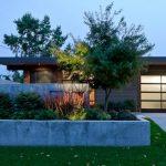 Light Color Concrete Planter Box Outside