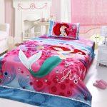 ariel princess bedding twin size 4pcs set