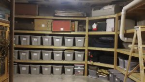 basement ideas for storage