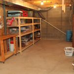 basement shelving storage