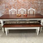 benchwright dining table a kind of pottery barn farmhouse dining table