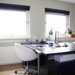 Black Wooden Parsons Table