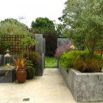 Concrete Plant Boxes For Backyard