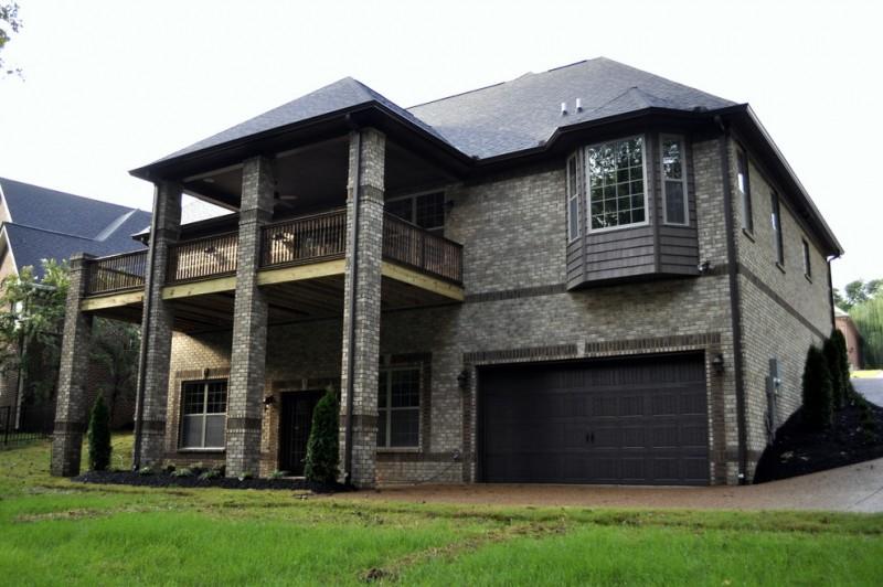 contemporary brick wall dark grey brick wall beige color elegant dark exterior