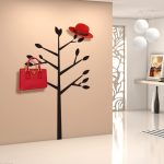Creative Diy Removable Adhesive Hook A Tree Bedroom Wall Home Decoration