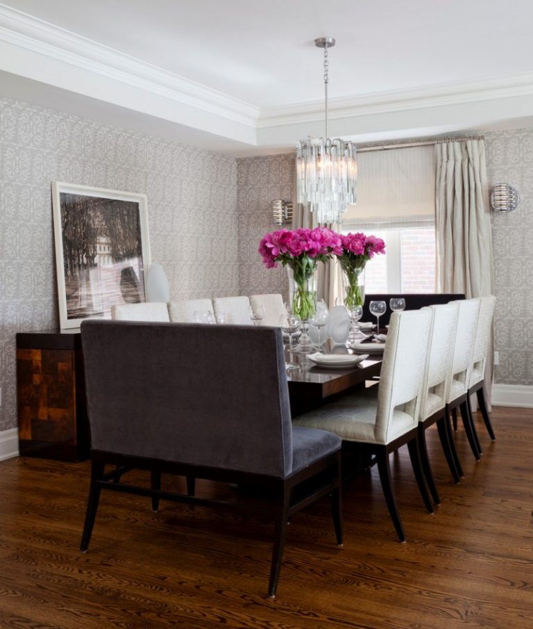 10 Dining Room Interior Design With Modern Dining Tables 3: Table For Your Entire Big Family