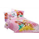 Disney Princesses Twin Bedding Set Palace Pets Comforter And Sheet Set