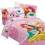 Disney Princesses Twin Bedding Set Palace Pets Fabulous Friends Comforter And Sheet Set